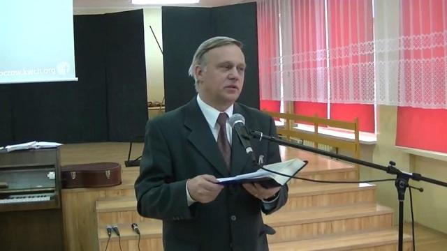 """Jerzy Karzełek Rz 12,1-8 """"Zbawieni aby służyć"""""""